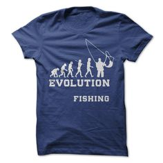 #tshirts... Awesome T-shirts  evolution fishing from (Cua-Tshirts)  Design Description: do you like go fishing? buy it now for your fishing. hurry up!  If you don't utterly love this design, you can SEARCH your favourite one via the usage of search bar on the head...