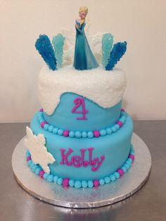Queen Elsa Frozen Cake!