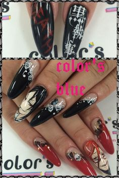 黒執事ネイル : Character nail art