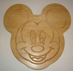 Mickey cutting board