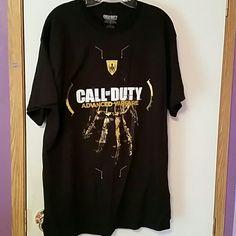 Call of duty t-shirt NWT. Men's call of duty t-shirt.  ☆☆☆BUNDLE AND SAVE☆☆☆ Shirts Tees - Short Sleeve