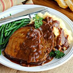 German-Style Pot Roast  {aka Bavarian Pot Roast or Sauerbraten} | That's Some Good Cookin'