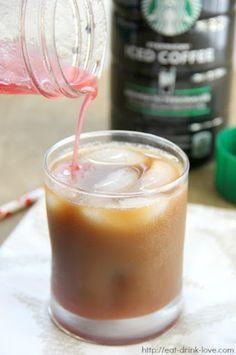 Iced Raspberry Coffee Recipe on Yummly