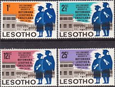 Lesotho 1968 SG 147 Maize Fine Mint SG 125 Scott 25 Other African Stamps HERE