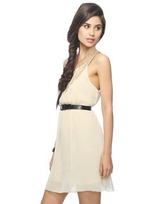 Have any late summer weddings to attench? This Embellished Crepe Chiffon Dress will do the trick! $24.80