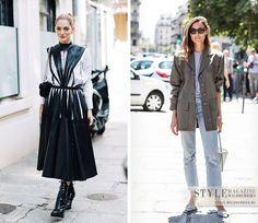 Стиль гостей недели высокой моды в Париже сезона осень-зима 2017/18