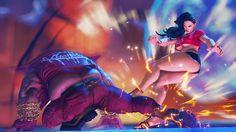 street fighter V screenshot Make A Comic Book, Comic Books, Crochet Bandeau Tops, Street Fighter Characters, Super Street Fighter, Fight Night, Fantasy Images, Action Poses, Comics Girls