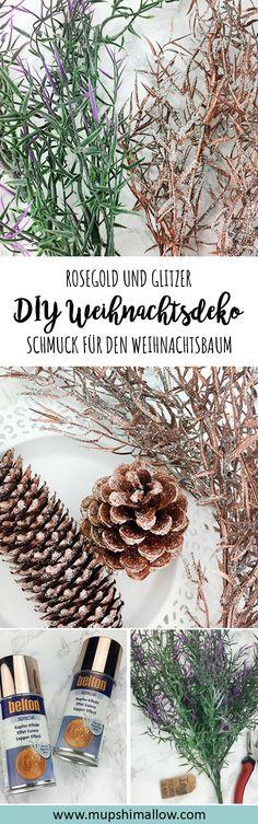 Hübsche Weihnachtsdeko kann ganz schön ins Geld gehen. Das muss aber nicht sein! In meinem DIY für Weihnachtsdeko zeige ich euch, wie ihr ganz einfach, schnell und vor allem günstig selber euren Baumschmuck und Weihnachtsdeko herstellen könnt. Klickt hier für mein DIY: Weihnachtsdeko - Schmuck für den Weihnachtsbaum selber herstellen.