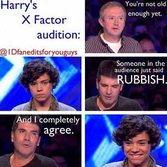 Hahaha I loved this moment! And I adore Harry's smile! It's just absolutely contagious!