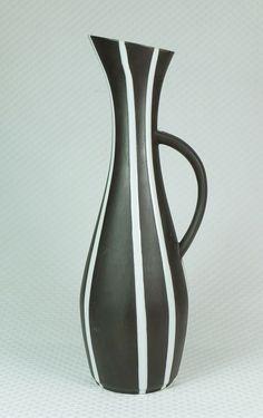 formschöne 50er jahre mid century VASE von eckhardt & engler modell-nr. 102/37