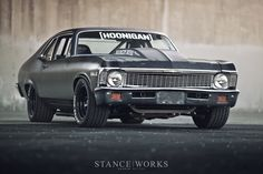 Kill All Tires – Brian Scotto's 1972 Chevy 'Napalm Nova | Anchor & Bolts #musclecar #chevy #black