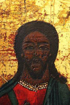 Painting of Christ. 18th century