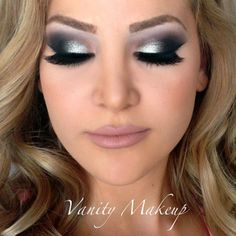 Platinum silver smokey eye  @iitssuzyx3 - @Angela Greene Make- #webstagram