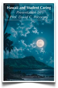 Student Caring & Prof. David C. Pecoraro