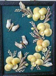 Mail: damaris farrier nuñes - Outlook - Mail: damaris farrier nuñes – Outlook Informations About Correo: damaris farrier nuñes – Outlo - Seashell Painting, Seashell Art, Seashell Crafts, Sea Crafts, Sea Glass Crafts, Baby Crafts, Seashell Projects, Driftwood Crafts, Shell Flowers
