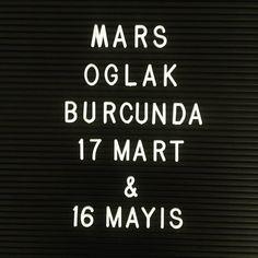 17 Mart'ta Mars Oğlak burcuna geçti! 🚀🚀🚀 16 Mayıs'a kadar burada kalacak. Çok çılgın bir gezegen olan Mars, Oğlak burcunda biraz düzene… Astrology Zodiac, Martini, Mars, Letter Board, Lettering, March, Drawing Letters, Martinis, Brush Lettering
