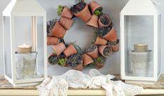Flower Pot Wreath!