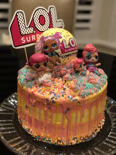 LoL! Surprise DOLL Confetti Pop Cake