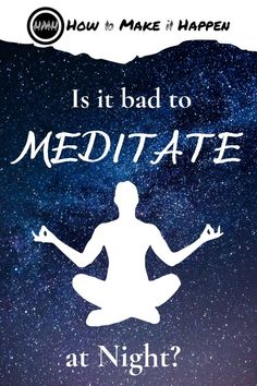 Is meditating at night a good thing? Meditation can involve different practices,. - Is meditating at night a good thing? Meditation can involve different practices, depending on which - Meditation For Health, Types Of Meditation, Meditation For Beginners, Yoga Meditation, Meditation Supplies, Feeling Happy, Self Confidence, How To Better Yourself, Spiritual Awakening
