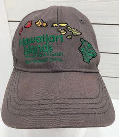 e3ba7d21cc7 Hawaiian Headwear Islands Gray Snapback Hat Ball Cap Mens Embroidered   HawaiianHeadwear  BaseballCap Light Beer