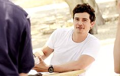 orlando bloom --- his smile could make my day any day