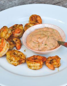 S-Küche: Louisiana Shrimps with Cajun Remoulade Sauce