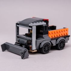 LEGO MOC 76903 Street Cleaning Truck by Keep On Bricking | Rebrickable - Build with LEGO