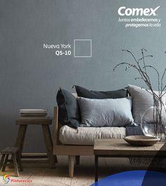 Dale un nuevo color a tu hogar, checa nuestra paleta de colores. Da click aquí: http://www.comex.com.mx/workspace #ComexPinturerías