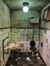De uitdaging van poppenhuizen: Leuke workshop die vieze WC