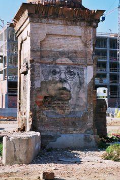 Street art | Mural by Jorge Rodriguez-Gerada #streetart jd