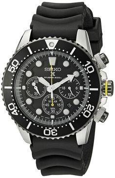 SEIKO 腕時計 ソーラー クロノグラフ SSC021PC [逆輸入品]