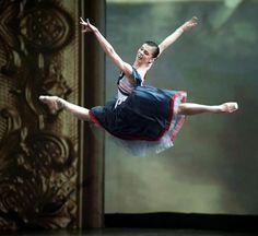 "Ballet Beautiful - Olga Smirnova in 'Ballade' at the Kremlin Gala 2015 Photo © Octavia Kolt. * ""Ballet is important and significant - yes. Ballet Images, Ballet Photos, Ballet Pictures, Ballet Body, Ballet Dance, Ballet Feet, Bolshoi Ballet, Ballet Costumes, Dance Costumes"