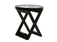 David Ross Solo Cross Side Table