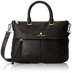 Vince Camuto Dean-SA Top Handle Bag, Black, One Size Vince Camuto http://www.amazon.com/dp/B00U3QUDAI/ref=cm_sw_r_pi_dp_uVo5vb0Y1E500