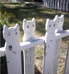 Cat fence!
