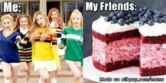 When people say Red Velvet Ice Cream Cake | allkpop Meme Center