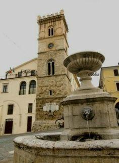 Piazza ~ Cittaducale, Italia
