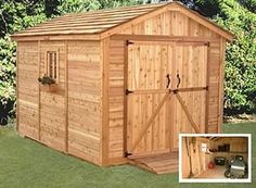 Pallet Shed Plans Free | 8X12 Shed plans #diy (via #spinpicks) by viola