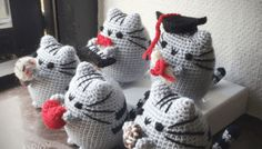 Pusheen Amigurumi Pattern, (More Than) 5 Styles