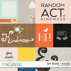 Be Kind - Cards by Red Ivy Design