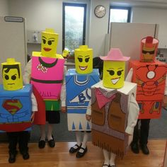 Costume ideas lego pinterest costumes and halloween ideas homemade lego minifigure costumes the kids kb group costumesfancy solutioingenieria Images