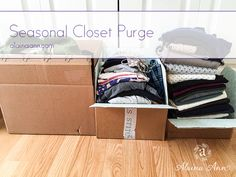 Seasonal Closet Purg...