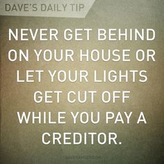 Dave Ramsey - Finance tips, saving money, budgeting planner Financial Quotes, Financial Success, Financial Planning, Financial Literacy, Freedom Financial, Financial Stability, Success Mindset, Retirement Planning, Dave Ramsey Quotes