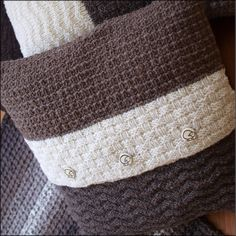Rare Earth Cushions Knitting Pattern - 5 co-ordinated designs for a great set of cushions or pillows.