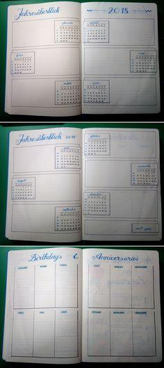 future log and birthday tracker