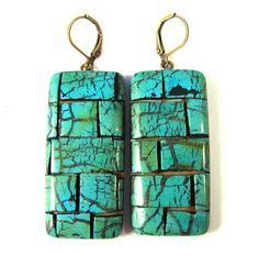 Fabulous Faux Collection  Faux Turquoise Polymer Clay by SCDiva, $26.00