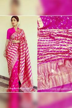 Details From our exclusive collection, we are offering you the Chanderi Cotton Silk saree, which...
