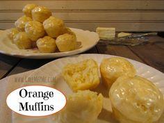 Orange Muffins  sound yummy!