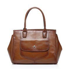 Jemma satchel leather