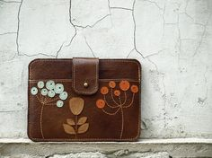 iPad Mini Case Leather iPad Mini Sleeve with by EightSeasons, $78.00